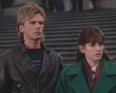 Angus MacGyver Trucs et Astuces - 4x11 La Bataille de Tommy Giordano - Mac et Mary Ruth
